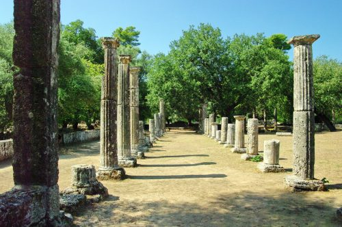 How did the ancient Olympics start?