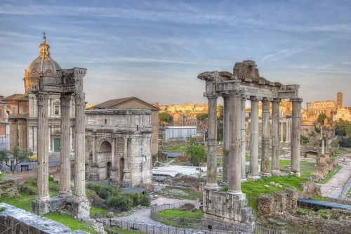 Foundation history of Rome